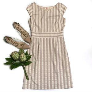 Anthropologie Moncollet Silk Blend Print Dress